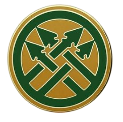 220th Military Police Brigade Combat Service Identification Badge (CSIB)