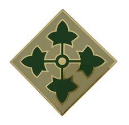 4th Infantry Division Combat Service Identification Badge (CSIB)