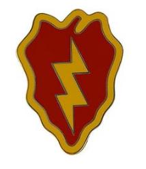 25th Infantry Division Combat Service Identification Badge (CSIB)