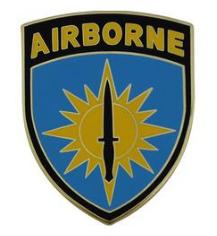 Special Operations Command Pacific Combat Service Identification Badge (CSIB)