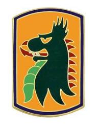 455th Chemical Brigade Combat Service Identification Badge (CSIB)
