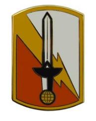 21st Signal Brigade Combat Service Identification Badge (CSIB)