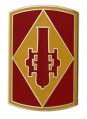 75th Fire Brigade Combat Service Identification Badge (CSIB)