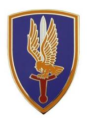 1st Aviation Brigade Combat Service Identification Badge (CSIB)