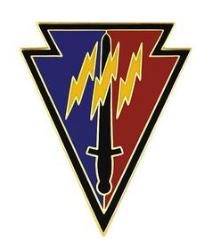 219th Battlefield Surveillance Combat Service Identification Badge (CSIB)