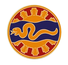 116th Cavalry Brigade Combat Service Identification Badge (CSIB)