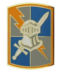 513th Military Intelligence Brigade Combat Service Identification Badge (CSIB)