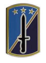 170th Infantry Brigade Combat Service Identification Badge (CSIB)