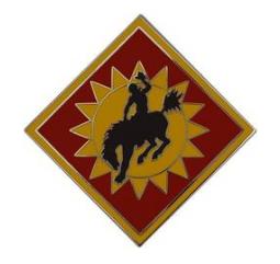 115th Field Artillery Brigade Combat Service Identification Badge (CSIB)