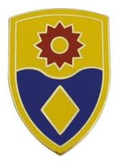 49th Military Police Brigade Combat Service Identification Badge (CSIB)
