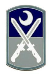 218th Maneuver Enhancement Brigade Combat Service Identification Badge (CSIB)