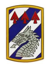 3rd Sustainment Brigade Combat Service Identification Badge (CSIB)