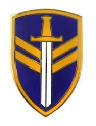2nd Support Command Combat Service Identification Badge (CSIB)