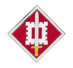 18th Engineer Brigade Combat Service Identification Badge (CSIB)