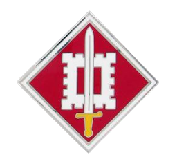 18th Engineer Brigade Combat Service Identification Badge (CSIB)