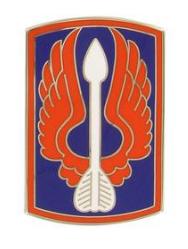18th Aviation Brigade Combat Service Identification Badge (CSIB)