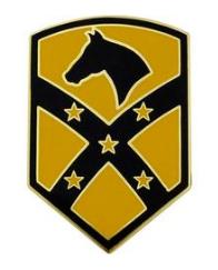 15th Sustainment Brigade Combat Service Identification Badge (CSIB)