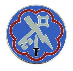 207th Military Intelligence Brigade Combat Service Identification Badge (CSIB)