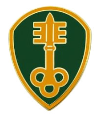 300th Military Police Brigade Combat Service Identification Badge (CSIB)
