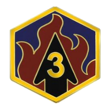 3rd Chemical Brigade Combat Service Identification Badge (CSIB)