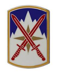 10th Sustainment Brigade Combat Service Identification Badge (CSIB)