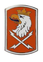 22nd Signal Brigade Combat Service Identification Badge (CSIB)