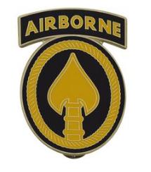 USA Element Special Operations Combat Service Identification Badge (CSIB)