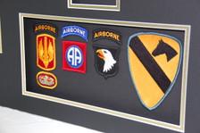 Airborne & 1st Calvary Unit Patches