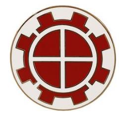 35th Engineer Brigade Combat Service Identification Badge (CSIB)