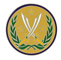 Army Element Combined Joint Task Force Operation Inherent Resolve Combat Service Identification Badge (CSIB)