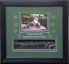 11 x 12 Pet Memorial Shadow Box Frame#1