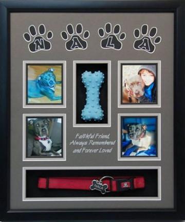 16 x 20 Pet Memorial Shadow Box Frame #12