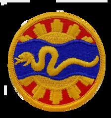 116th Cavalry- color