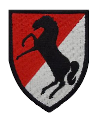 11th Cavalry Regiment- color