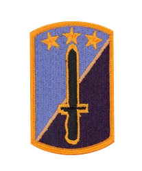 170th Infantry Brigade- color