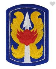 199th Infantry Brigade- color
