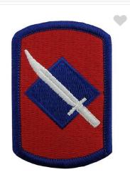 39th Infantry Brigade- color