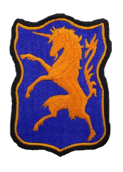 6th Armored Cavalry- color