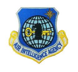 Air Intelligence Agency w/hook closure- color