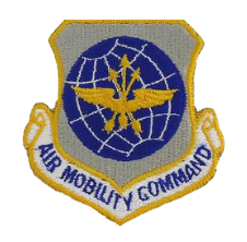 Air Mobility Command w/hook closure- color