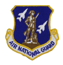 Air National Guard w/hook closure- color