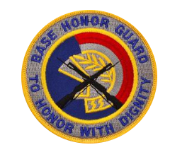 Base Honor Guard to Honor with Dignity- color