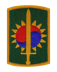 Eighth Military Police brigade- color