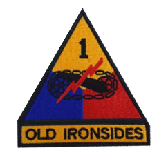 First Armored Division- color