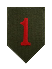 First Infantry Division- color