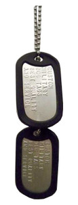 Authentic Military Dog Tags