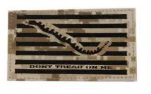 Flag Patch- Don't Tread On Me-Desert Digital