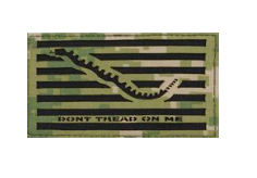 Flag Patch- Don't Tread On Me-Woodland Digital