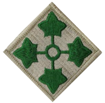 Fourth Infantry Division- color