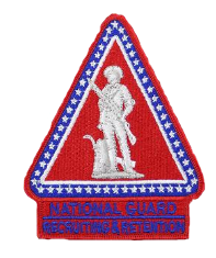 National Guard Recruiting and Retention Center Patch - color